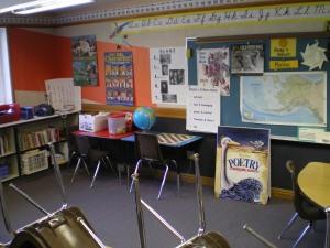 Hans' classroom (grades 3-5)